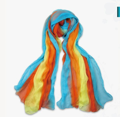 2013 Fashion USA Wholesale New Lady silk scarf colors