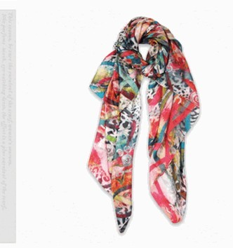 SEO_COMMON_KEYWORDS New Fashion lady's 100% Silk Scarf Zebra Design