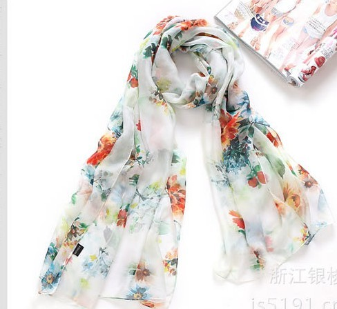 SEO_COMMON_KEYWORDS Flowers printing silk scarf/ shawl wholesale in Untied Kingdom