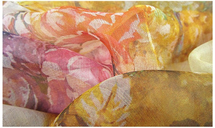 Buy silk scarf online in USA