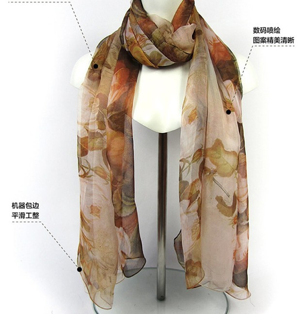 SEO_COMMON_KEYWORDS 100% Silk scarf wholesale for wholesalers