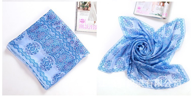 100% Mulberry silk 2013 Fashion scarf wholesale USA