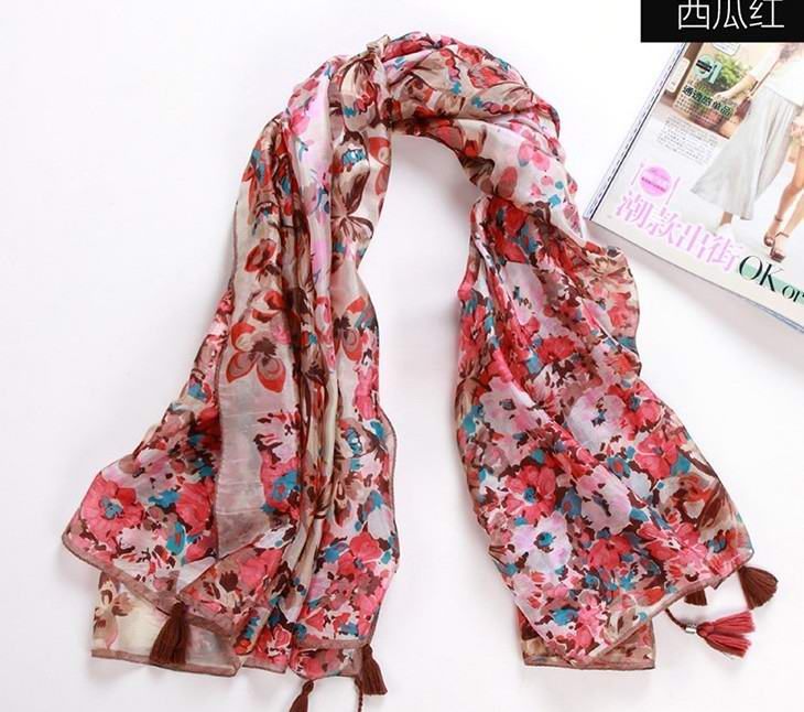 100% Mulberry silk 2013 newest silk scarf painting wholesale