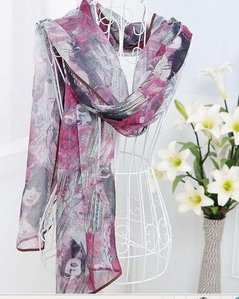 Beautiful Silk Scarf Online Store USA