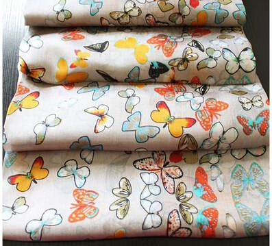 001 New Silk Scarf With Butterfly Patterns