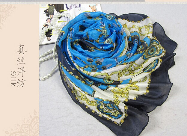 007 2015 Fashion Silk Scarf For Women