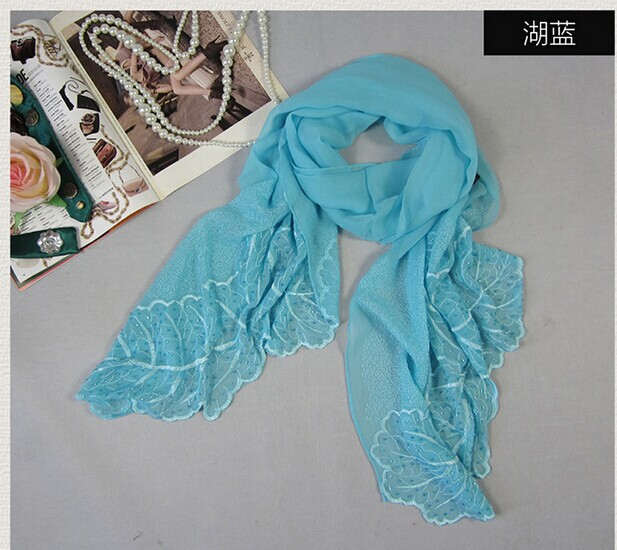 009 Great Design Silk Scarf Fashion