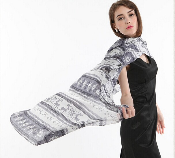 014 Low price silk scarf with top quality
