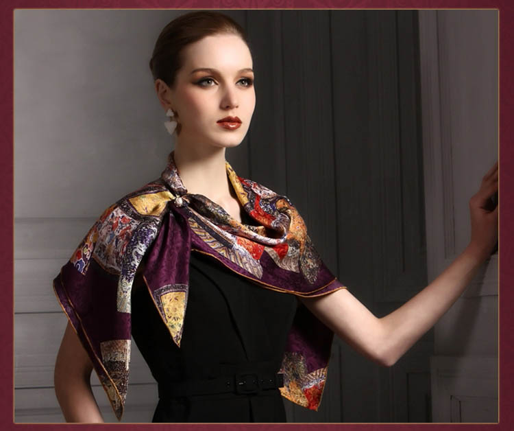 Silk Scarf in bulk