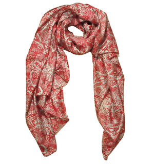 Printed silk scarves China