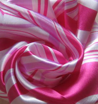 Striped Silk scarves bandana