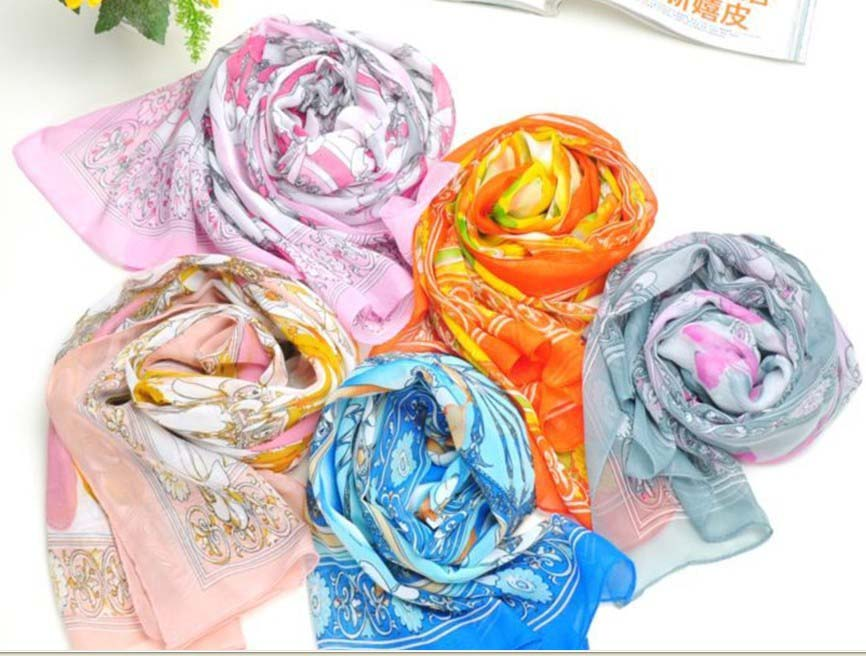 South American silk scarf wholesale for Summer/Autumn