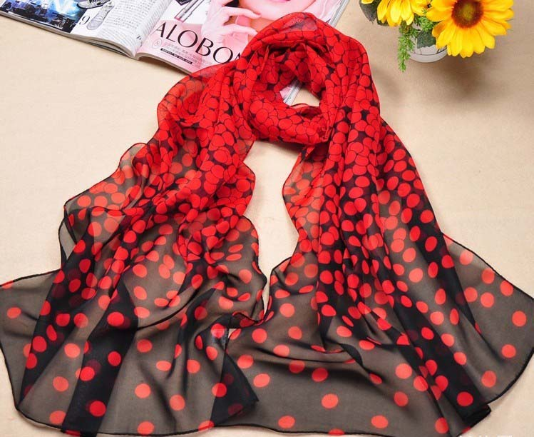 2013 Spring silk scarves and wraps for women