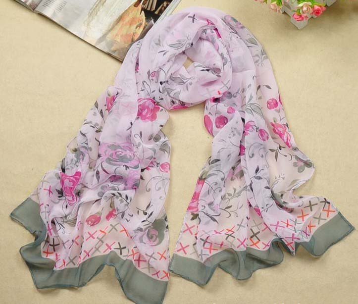 Popular infinity silk scarf wholesale UK