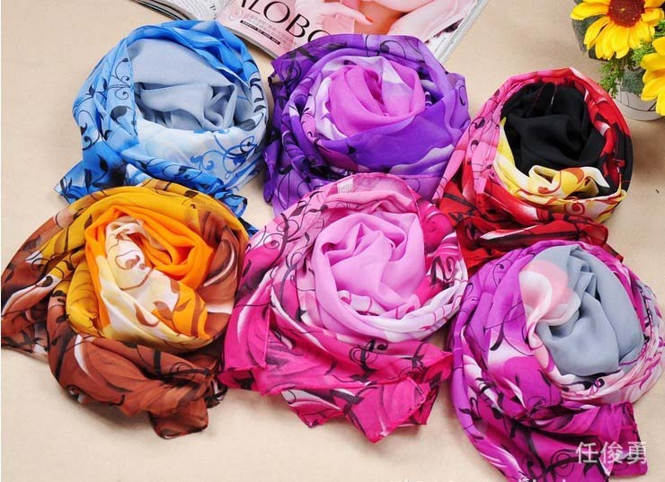 Fashion Long Soft Like Silk Shawl/Wrap/Scarf Wholesale