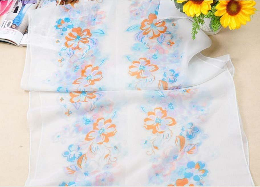 2013 New Women's Fashion Georgette Long silk Wrap Shawl
