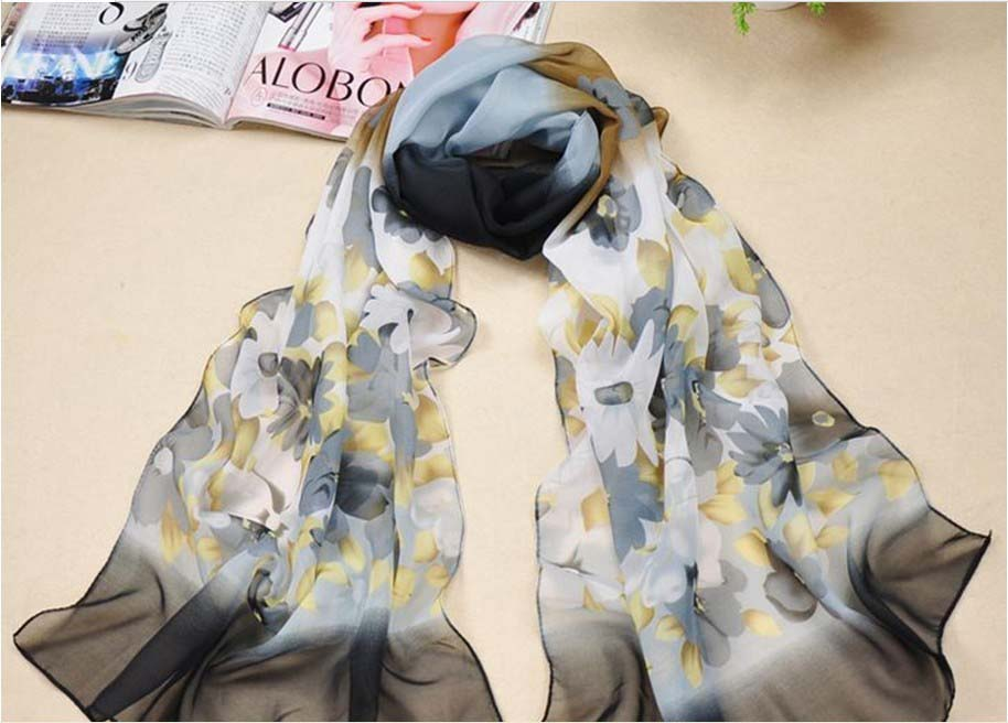 Women's Fashionable and Beautiful Gorgeous Silk Long Scarf whole