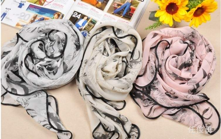 Canada cheap silk scarf wholesale