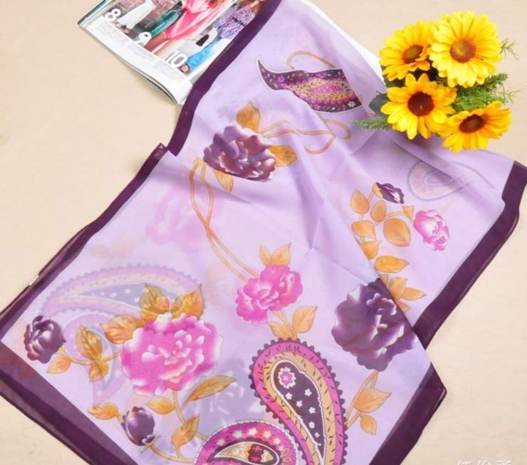 UK Purple silk scarf Wrap online