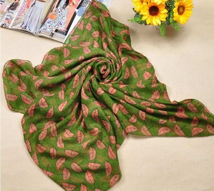 GREEN silk scarves supplier USA