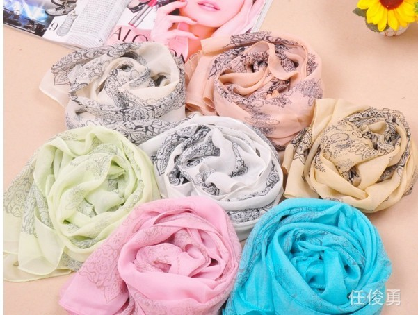 New Trend silk Pashmina Scarf for women