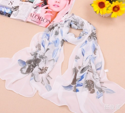 SEO_COMMON_KEYWORDS Cool Print Style silk Scarf New York