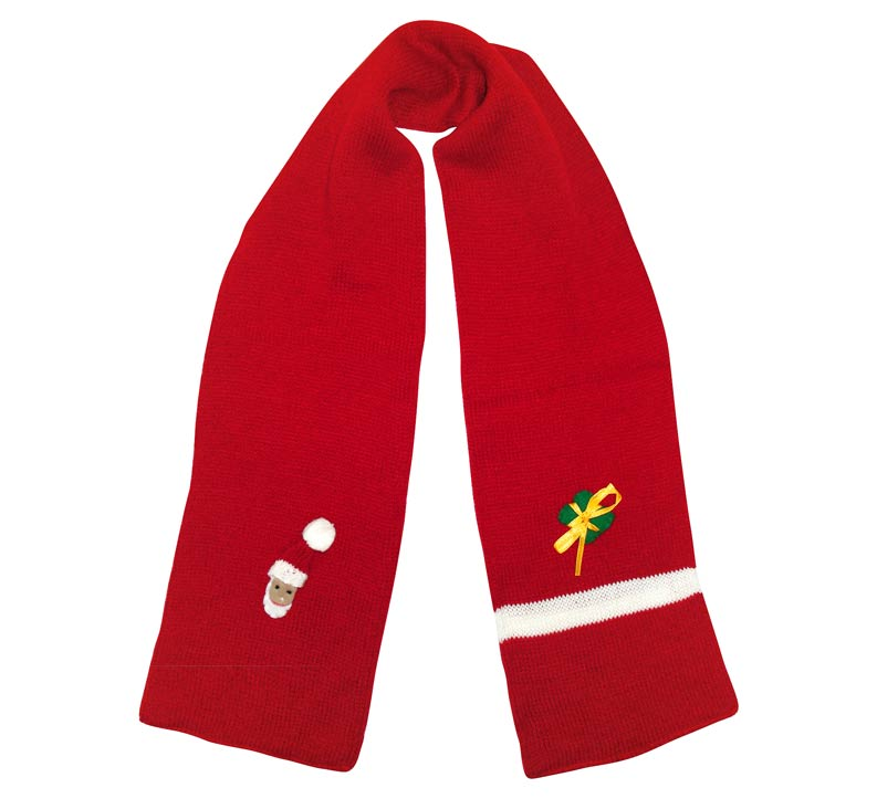 USA Christmas Sports Scarves Kits for Kids