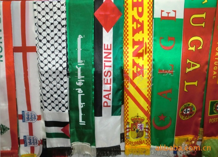 Inexpensive sports scarves