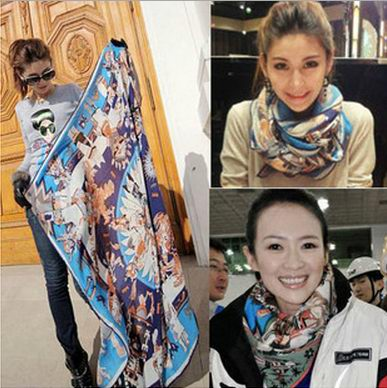 New arrival Square Scarf on sale