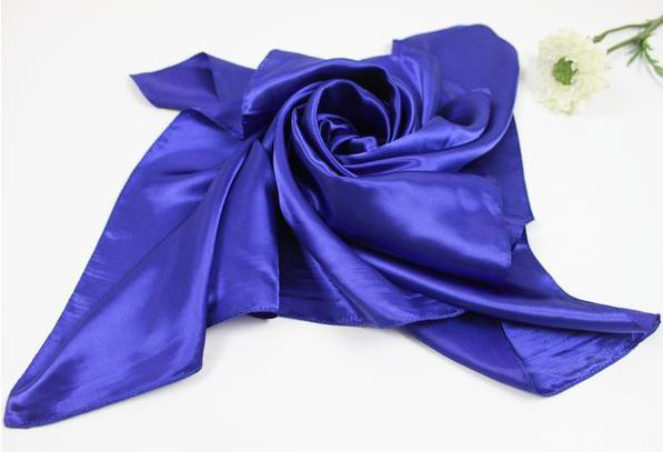 Plain Solid Colors Square Scarf Wholesale