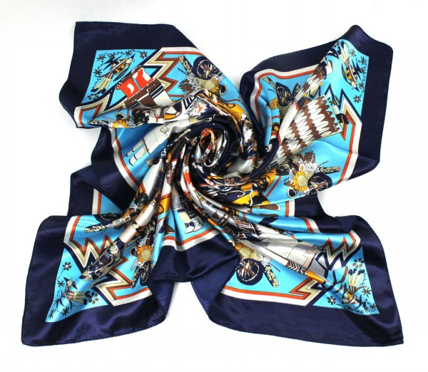 90*90CM Cheap Imitated Silk Satin Scarves