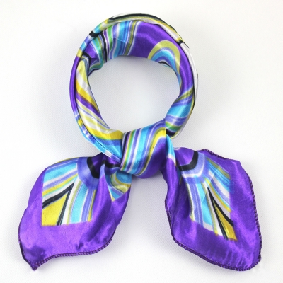 SEO_COMMON_KEYWORDS 50*50CM Purple Square Scarf 063