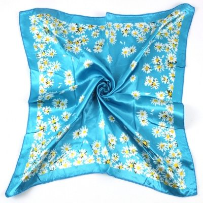 SEO_COMMON_KEYWORDS 50*50CM Flower Square Scarf 070