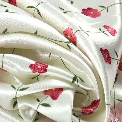 50*50CM Pink Flower Square Scarf 071