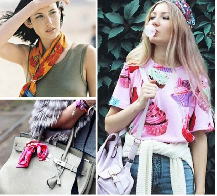 001 90*90CM Fashion Square Scarves