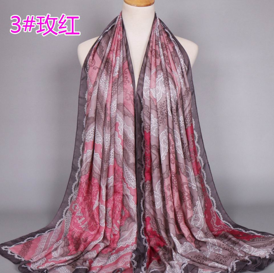 017 NEW VISCOSE SCARF 221
