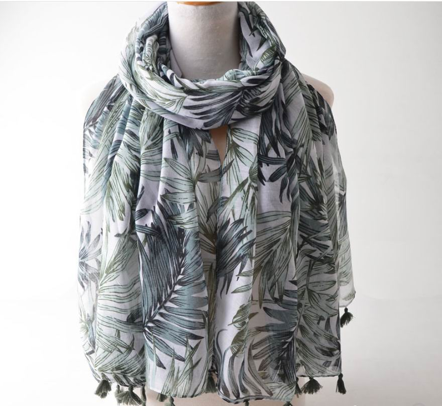 0019 NEW VISCOSE SCARF 343