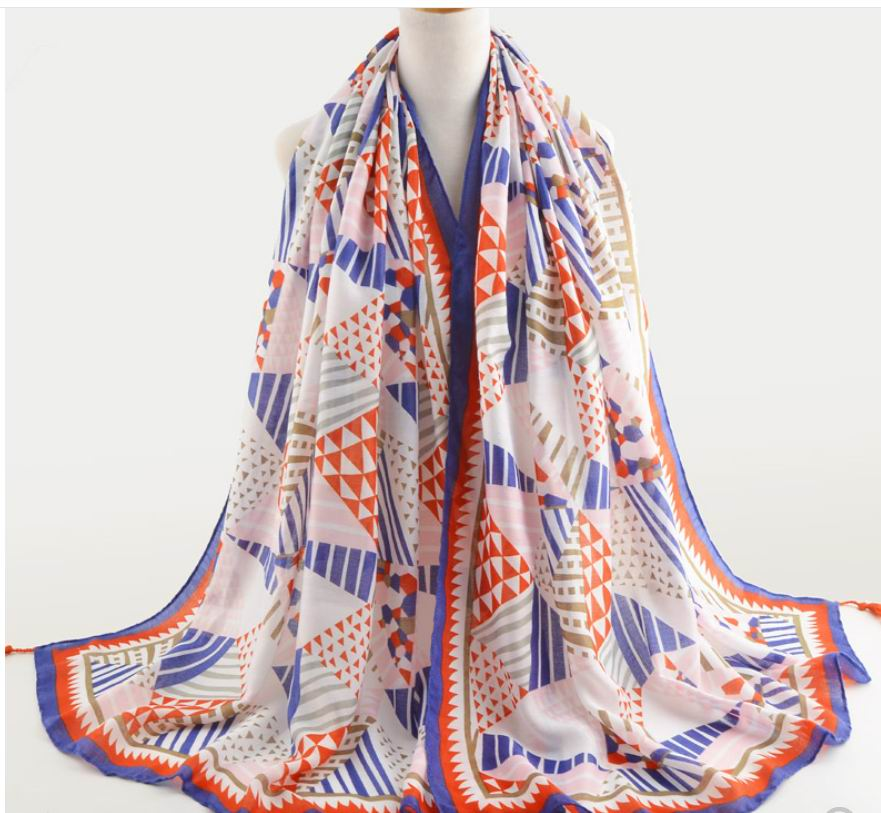 0019 NEW VISCOSE SCARF 351