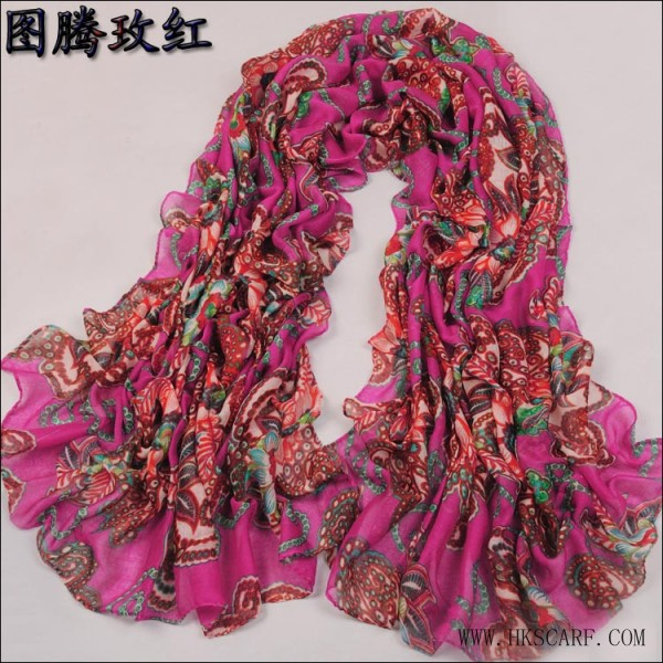 USA wholesale scarves tuteng flower scarf