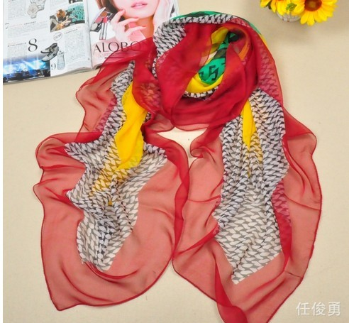 2013 Long Size Soft Viscose Scarf New York