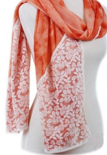 Luxurious ladies viscose scarves wholesale