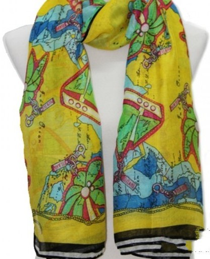 Painting Designs Viscose Scarf For Sale Online