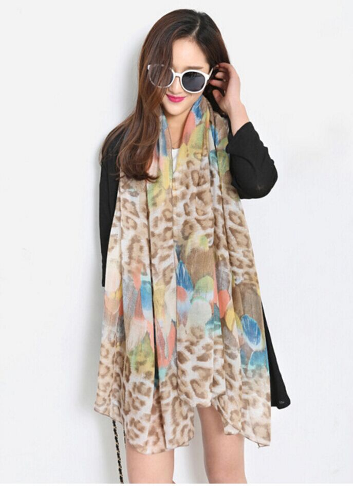0001317 2016 viscose scarf Autumn