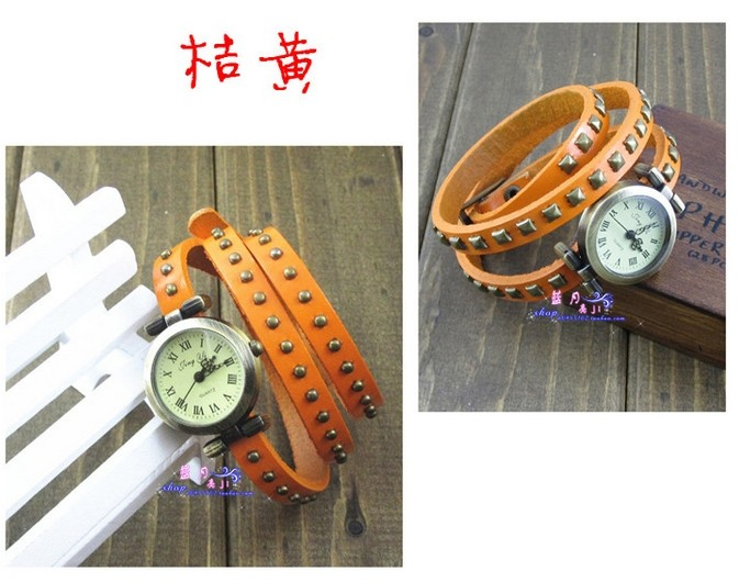 Leather Strap Ladies Watch Online Wholesale Sale