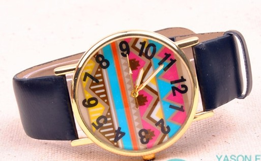Colorful UK Design Online Wholesale Wrist Watch