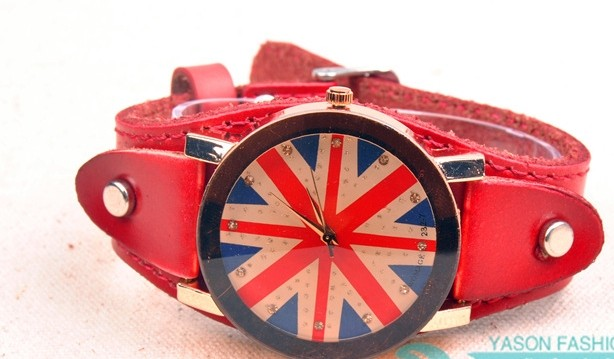 The Union Jack Pattern Face Cheap UK Watches