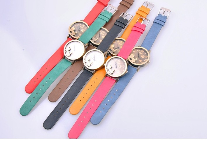 SEO_COMMON_KEYWORDS Fashion Pet Design Case Frosted Band Watch