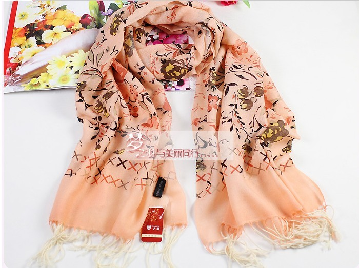 2013 Fahion 100% WOOL scarves/wraps wholesale Canada