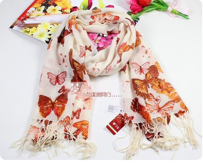 Hot Selling Women's Fashion 100%Wool scarf United States