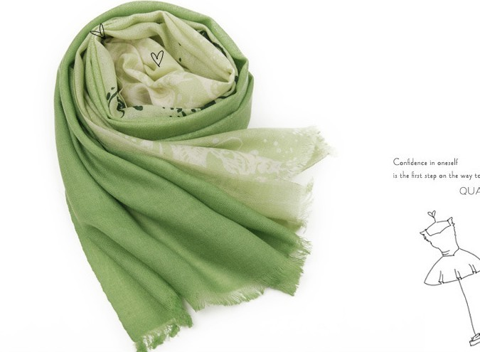 Newest 100% Pure Wool Winter scarf Wholesale Canada
